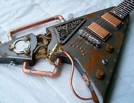 Steam-punk Guitar