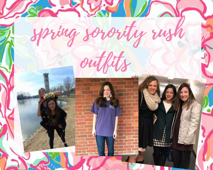 spring sorority rush outfits