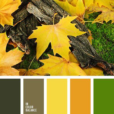 """""""пыльный"""" коричневый, дизайнерские палитры, коричневый, оттенки зеленого, оттенки оливкового, оттенки оранжевого, оттенки рыже-коричневого, палитры для дизайнеров, подбор цвета, салатовый, тёмно-зелёный."""