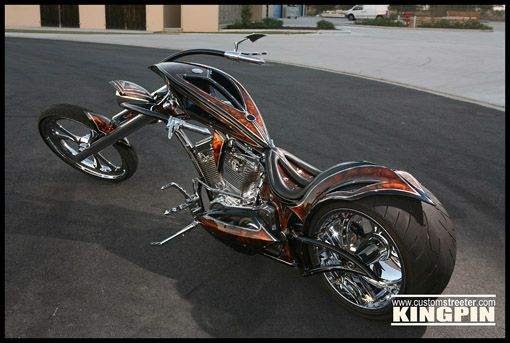 Lethal Weapon by Kingpin Choppers http://www.customstreeter.com/feature_kingpin_chopper.html