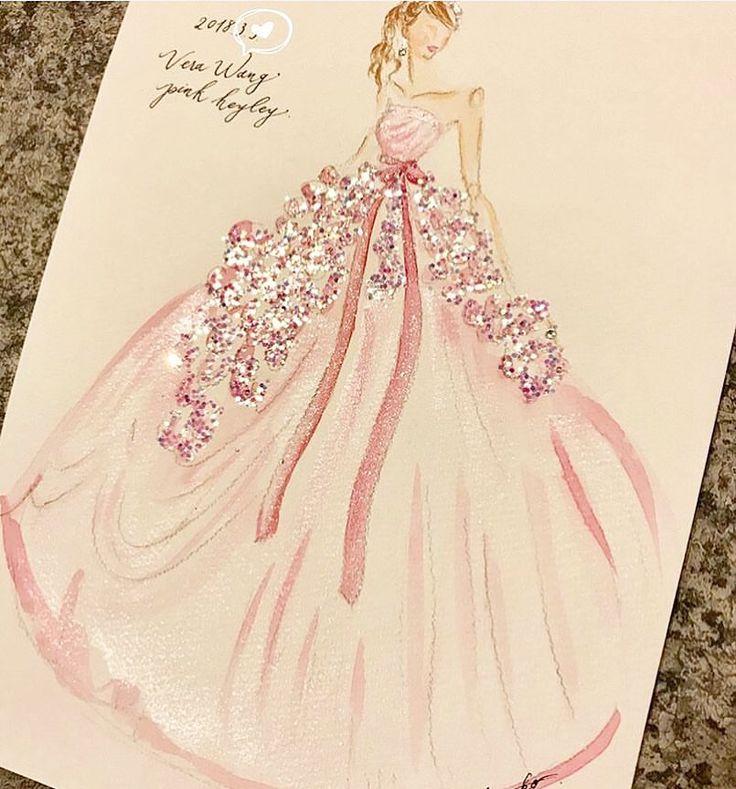 * ヴェラウォンの人気ドレス#ピンクヘイリー を着る 花嫁さんが描いてもらったという、 #ドレスイラスト がとっても素敵 * ふんわり大きく広がったドレスに、 キラキラがたっぷり乗せられていて ほんとうに可愛い✨ * 運命のドレスの絵を描いてもらって おうちに飾ったら、 初めて試着したときのトキメキを忘れずに いつまでも幸せな気持ちで過ごせそう * photo by @an.na_wed #プレ花嫁#卒花#卒花嫁#ヴェラウォン#ヘイリー#ヘイリーピンク#verawang#pinkhayley#カラードレス#お色直し#披露宴#二次会#2017秋婚#2017冬婚#2018春婚#2018夏婚#花嫁#結婚#婚約#プロポーズ#marryxoxo
