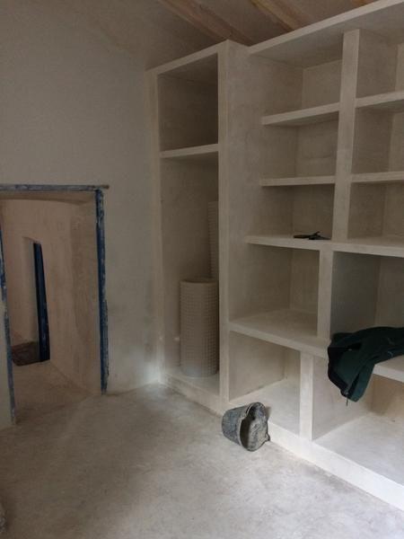 Yes shelves - Rustic Plaster Shelves - Spanish home