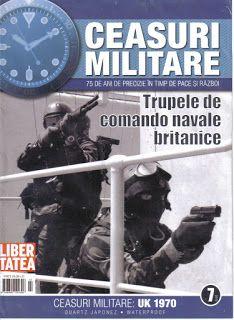 Watches & Clocks  Collection: Ceas Trupele de Comando Navale Britanice