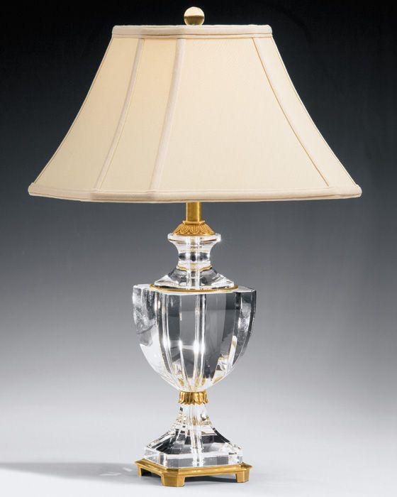 Best 20+ Crystal Lamps ideas on Pinterest | Crystal decor, Table ...