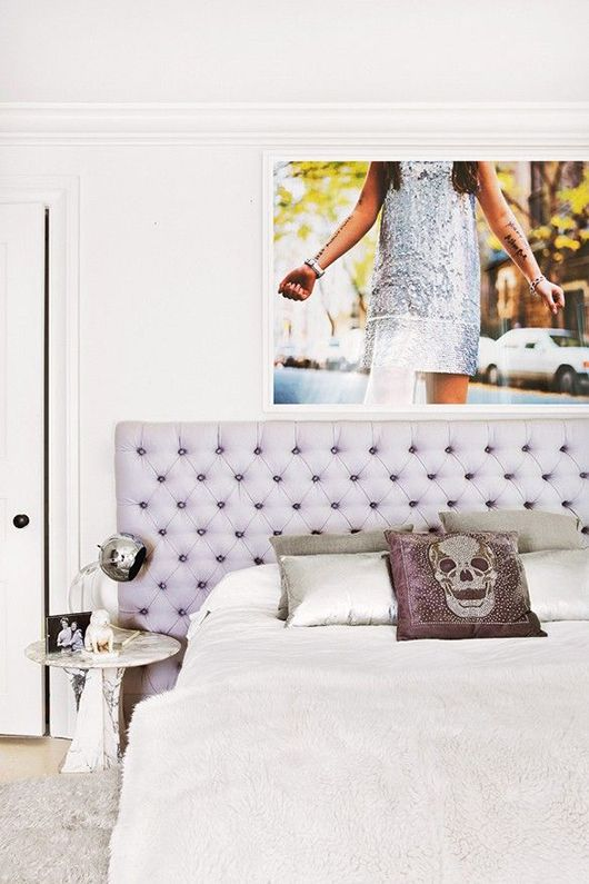 decorating with the large print / sfgirlbybay