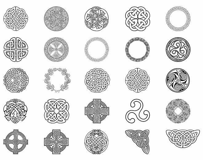 Les 25 meilleures id es de la cat gorie symboles celtiques - Symbole viking tatouage ...