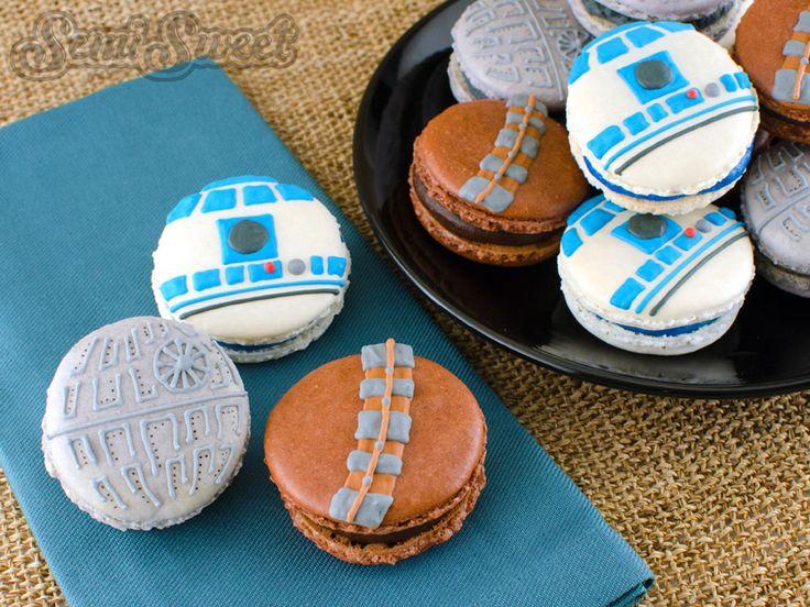 Macarons Star Wars : La durée de la cuisson dépend de La Force de volonté