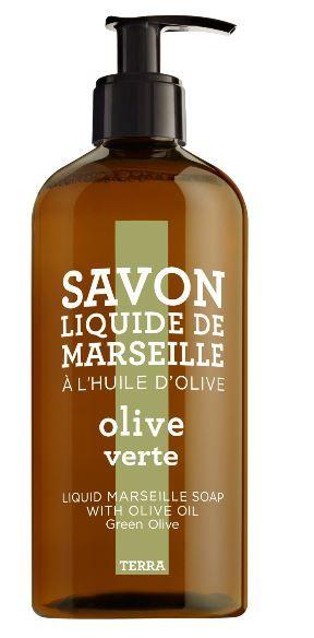 Samenstelling: Mooie delicate geur van bergamot, gras, olijven, lelietjes van dalen, meloen, olijfhout.   Savon Liquide de Marseille Huile D'Olive Een rijk schuimende zeep maakt de huid soepel en droogt  de huid niet uit niet. Geschikt voor ieder huidtype. http://www.o-lijf.com/a-38333077/compagnie-de-provence/savon-liquide-de-marseille-huile-d-olive/