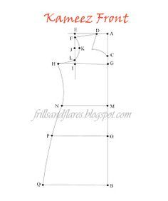 Draft a kameez - -  *many* brilliant draft tutorials at this site!