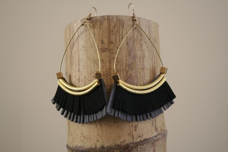 African style earrings