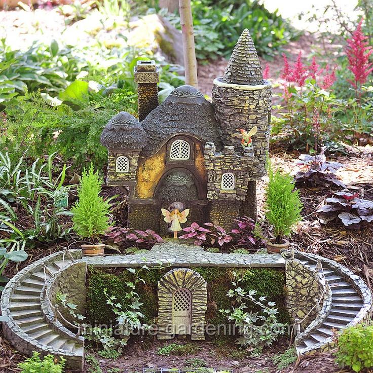High Quality Primrose Cottage #miniature Gardening #fairy Gardening