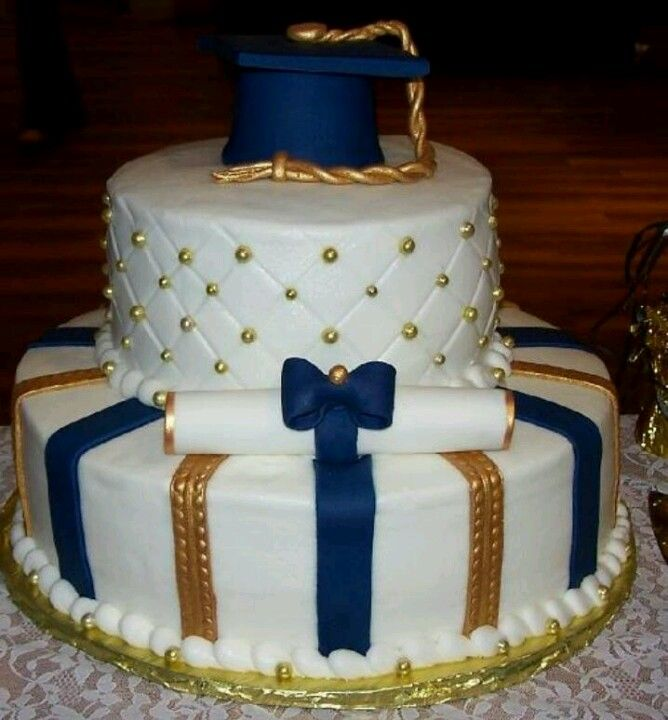 FFA color graduation cake?