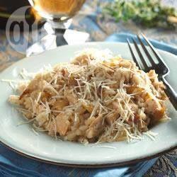 Roast Chicken Risotto