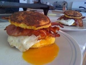 Paleo Breakfast sandwich!