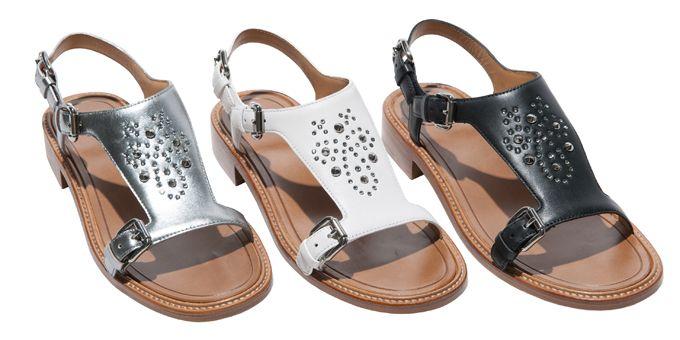 #Church's lancia una speciale #Ladies Capsule Collection. Bianco, nero, argento ed oro, per i #sandali estivi da #donna.http://www.sfilate.it/226561/bianco-nero-argento-ed-oro-per-i-sandali-estivi-churchs