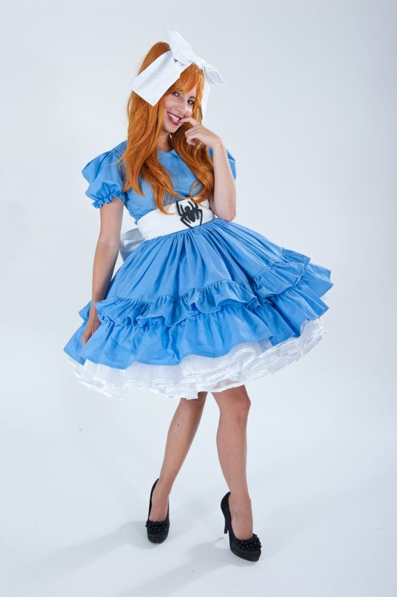 Cute Little Miss Muffet Halloween Costume Blue by MGDclothing, $389.95