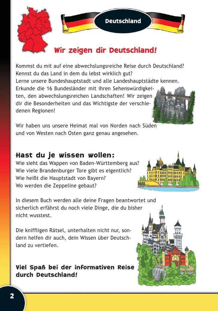 8 best Landeskunde images on Pinterest | Germany, Travel and Mobile ...