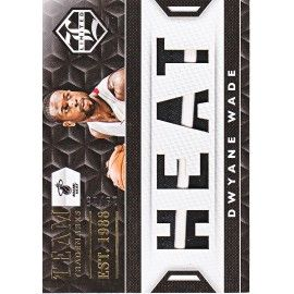 "DWYANE WADE 2015-16 LIMITED "" TRADEMARKS  GOLD "" PATCH /25"
