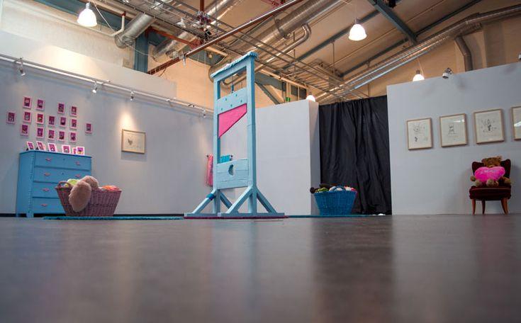 """Head Swap >< Swap Head"" exhibition at Ytan, Henrik Haukeland 2016."