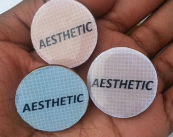 Tumblr Aesthetic Pastel Grunge Pins by MostlyHarmlessGifts on Etsy
