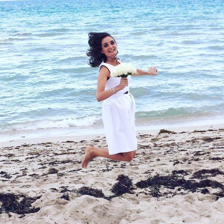Se #marier ? Plutôt 2 fois qu'une ! Sur le blog je vous parle de notre renouvellement de voeux de #mariage sur une plage de #MiamiBeach