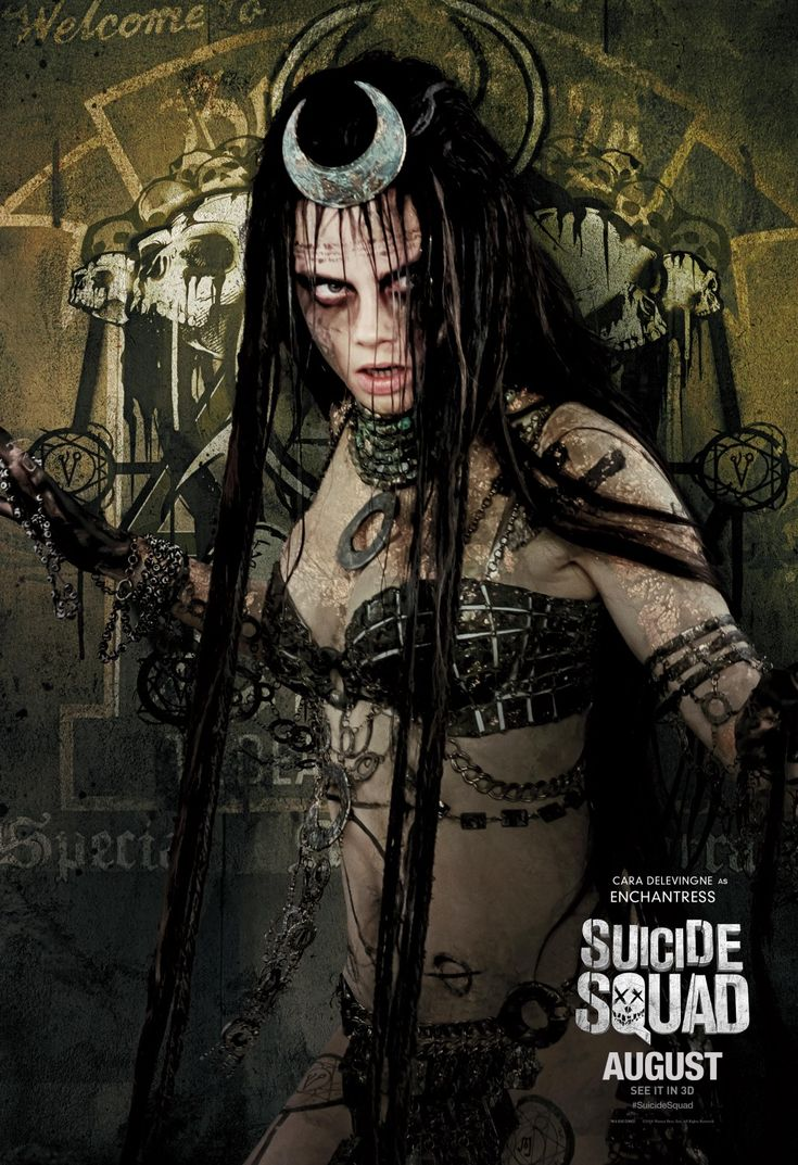 Suicide Squad - Cara Delevingne as The Enchantress