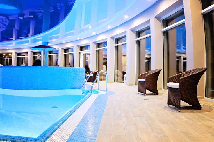 Indoor pool #spa #hotel #relax #wellness #pool