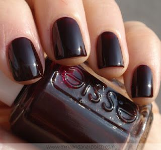 "Essie ""Wicked""-wearing this right now, it's beautiful!.... My favorite color!"