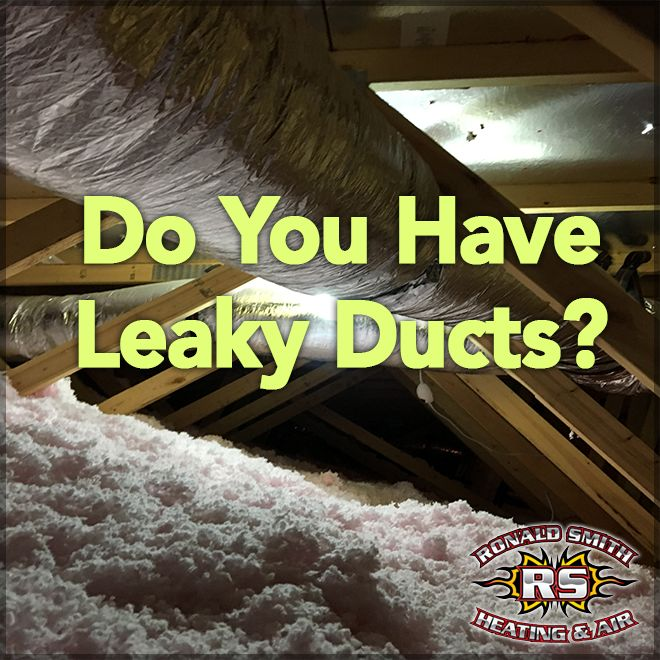 DID YOU KNOW...the rising cost of heating and cooling homes can be attributed to leaking ducts. Tears in duct work, or separations of ducts from vents could be causing your heating and air conditioning unit to have to work overtime to do its job. Give us a call today and we will be glad to check it out for you and resolve any heating and air conditioning issues you may have. #DuctRepairAtlanta #DuctRepairCobbCounty #RonaldSmithHeatingAndAir