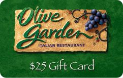 $15 for $25 Olive Garden Gift Card, perfect give for your friends and family #Saveology #Wishlist