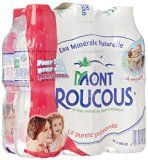 Mont Roucous Eau Minérale Naturelle Pack de 6 Bouteilles x 50 cl