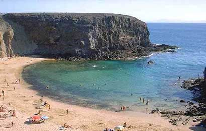 Papagayo Beach, Lanzarote Island (Spain)