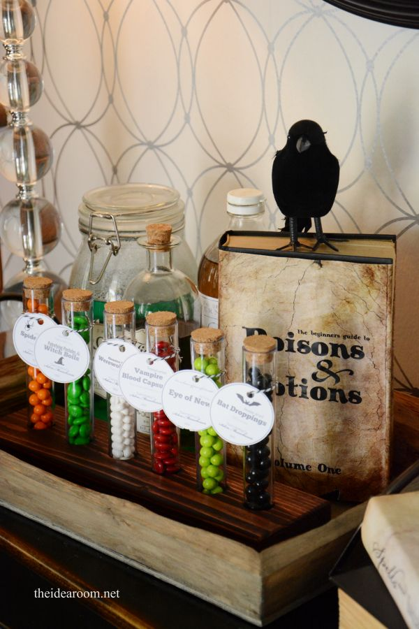 halloween printables : potion ingredient tags