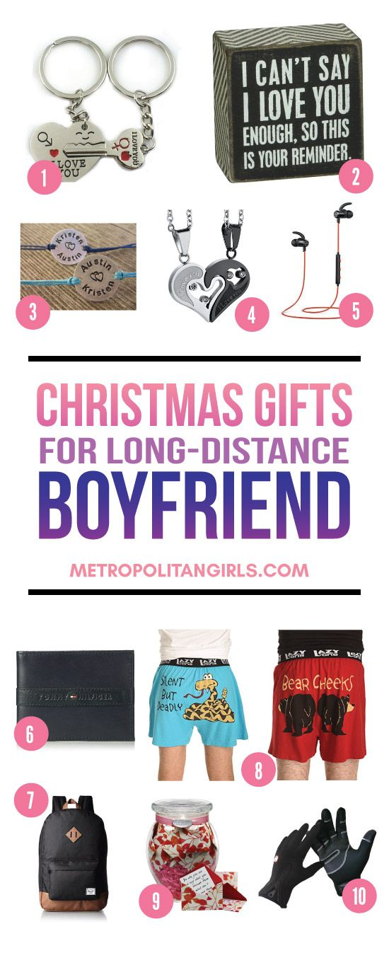 Christmas Gifts For Long Distance Boyfriend 2017