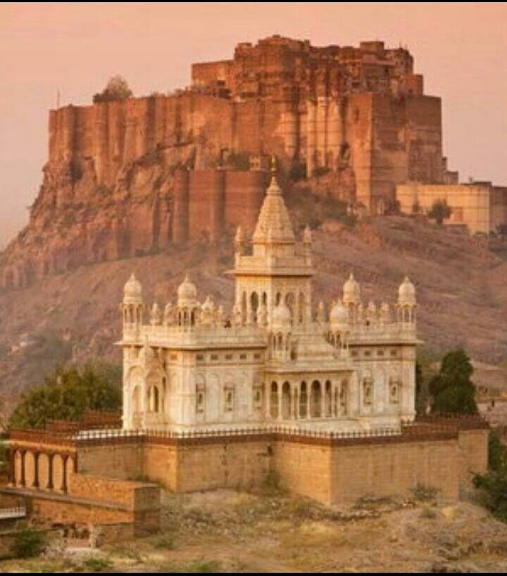 Merangarh fort, Jodhpur Rajasthan India.                                                                                                                                                                                 More