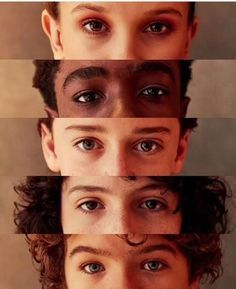 Millie Bobby Brown, Caleb McLaughlin, Noah Schnapp, Finn Wolfhard & Gaten Matarazzo - THOSE EYES -