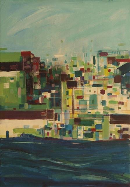 acryl/oil on canvas 45x35cm