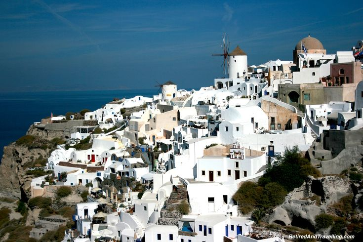 A cruise to the Greek Islands should include Santorini and Mykonos!
