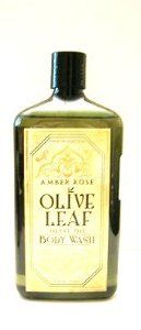 Premium Selection Amber Rose Olive Leaf Body Wash - 25 fl. oz. by Olive Leaf. $19.99. Pour a button sized drop on a wash cloth or mesh sponge.. With Olive Leaf base.. Premium Selection Amber Rose Olive Leaf Body Wash - 25 fl. oz.. 25 fl. oz. - 750 ml. Scent: Amber Rose.. Scent: Amber Rose.  With Olive Leaf base.  Pour a button sized drop on a wash cloth or mesh sponge.  Work into a later, smooth over skin and then rinse with water.  Ingredients: Water (Aqua), Sodium...