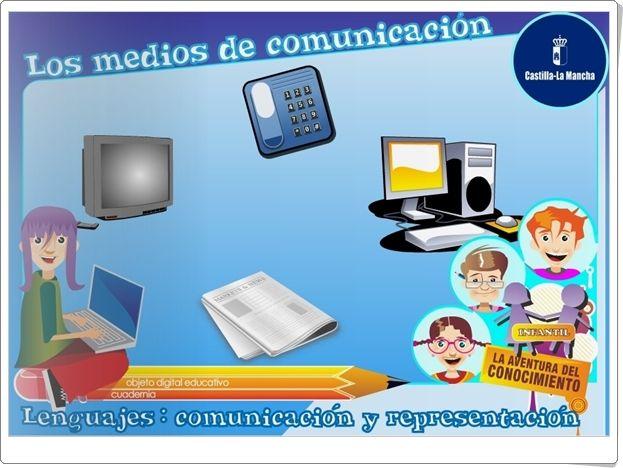 """""""Los medios de comunicación"""" (Junta de Castilla La Mancha)"""