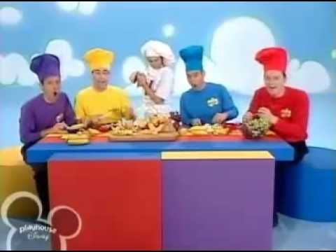 The Wiggles - Fruit Salad The kids and I watched this show non-stop!  Ah, the good old days of the early 2000s!  Fruit Salad was our favourite song.