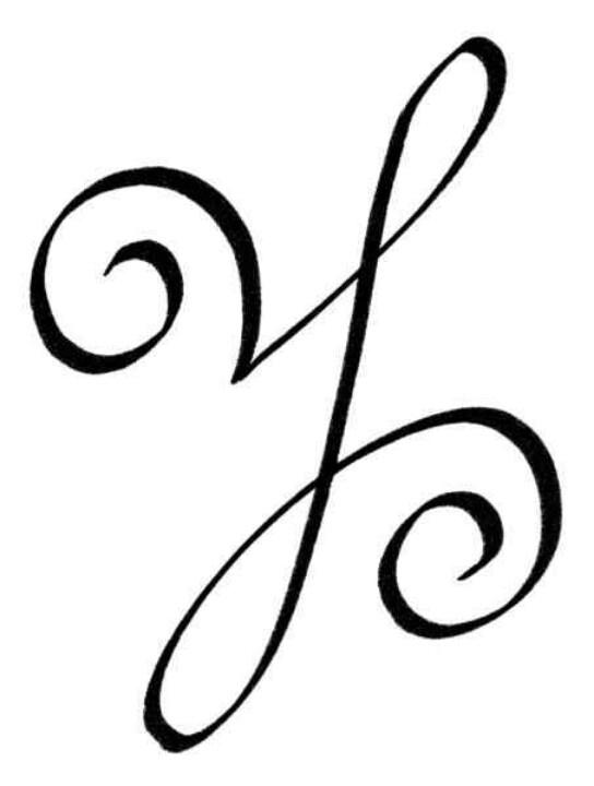 Angel script, peace
