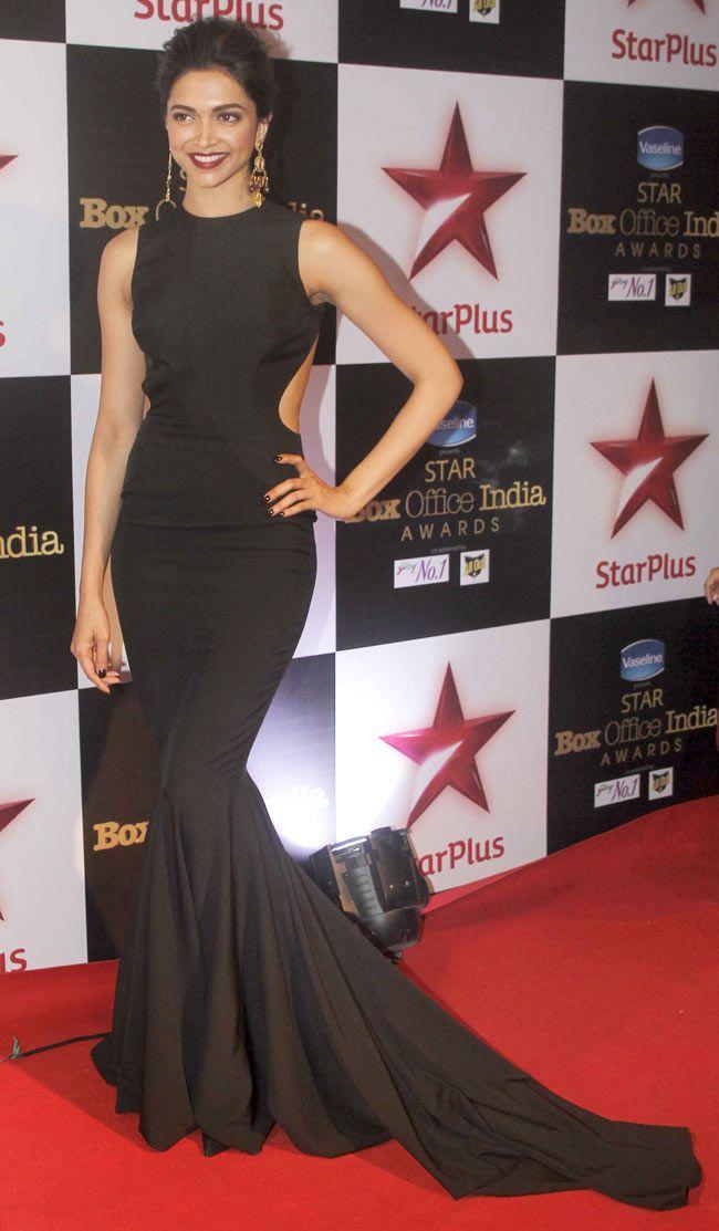 Deepika Padukone at STAR Box Office Awards.