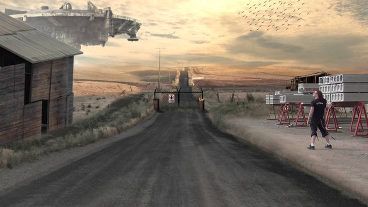 After Effects - VFX Breakdown to District.9 Set Extension