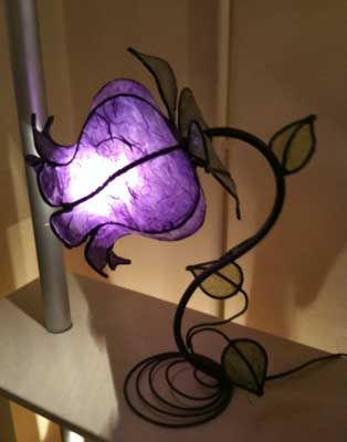 Bloomed Lamps by an Italian designer.