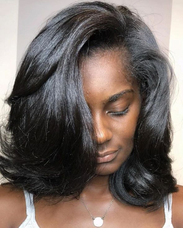 hairstyles   Medium length hair styles, Long thin hair ...