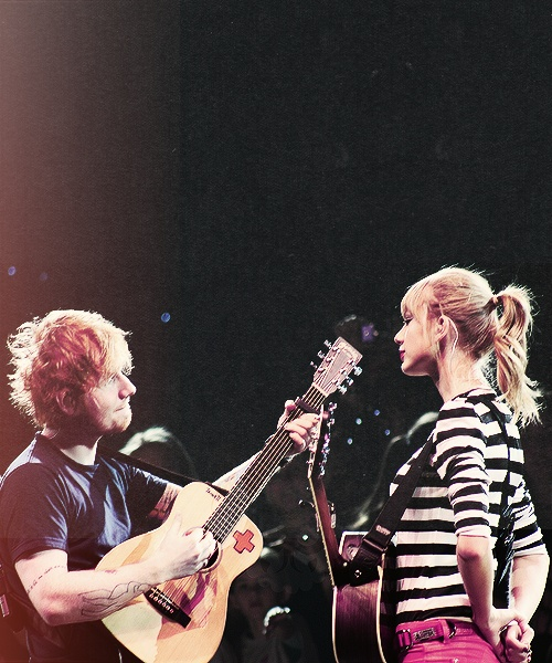 ed sheeran and taylor swift - photo #19