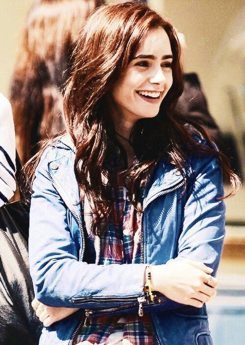 lily collins, clary fray, and actress image