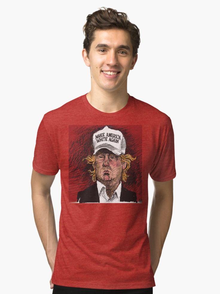 Donald J Trump satirical cartoon
