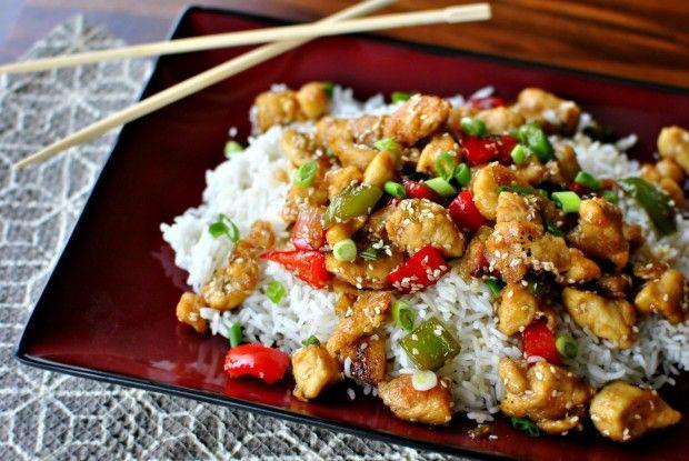 Healthy Sesame Chicken / Sonoras bongusta! / 美味しそう!